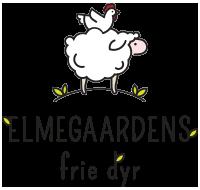 Elmegaardens frie dyr - logo